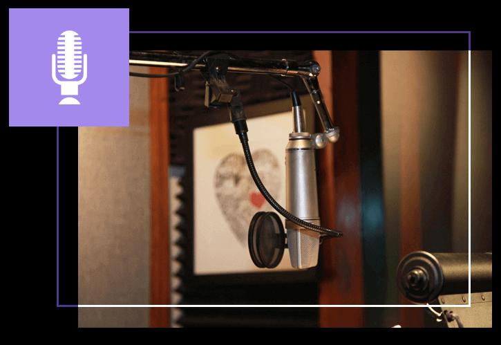Tina Zaremba Professional Talker Studio Image