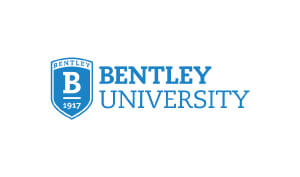 Tina Zaremba Professional Talker Bentley University Logo